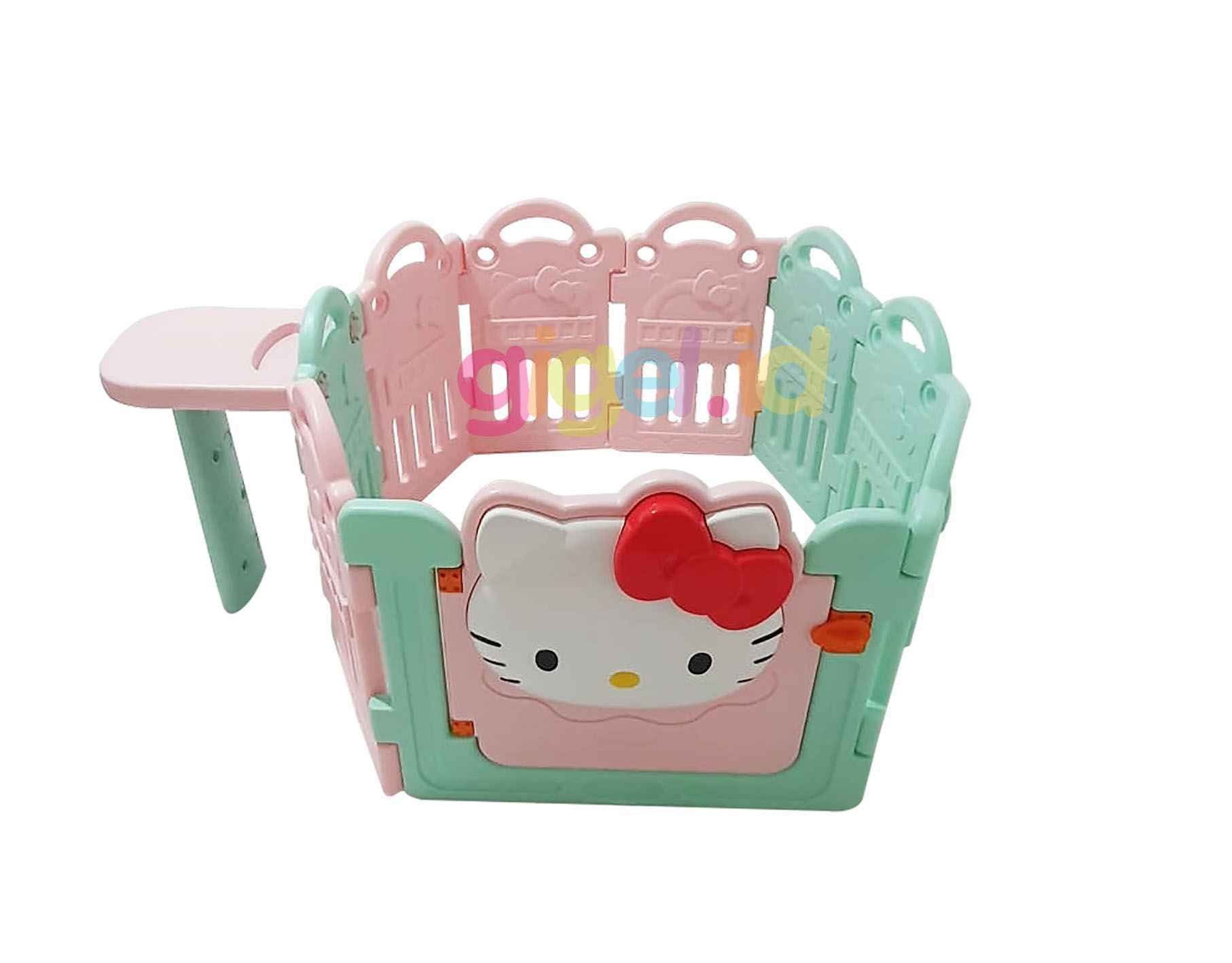Coby Haus Hello Kitty Fence Gigel.id