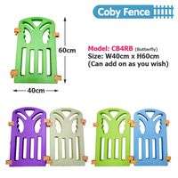 Extension Coby Haus Safety Play Fences - Mini Pack 2 Panel - Bear