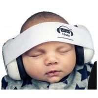 EMS 4 Bubs Baby Earmuffs – White - White