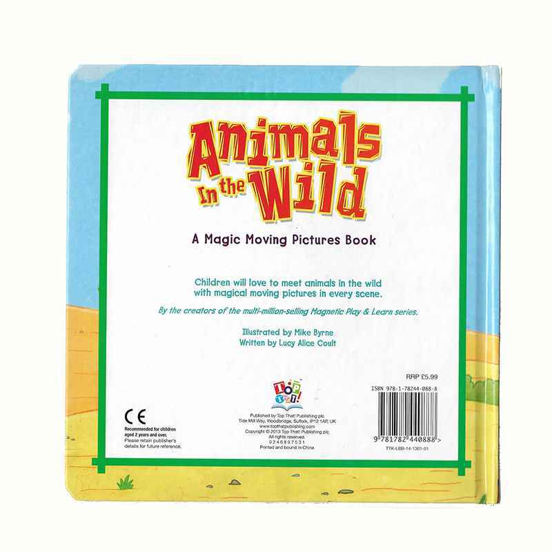 ANIMALS IN THE WILD - A MAGIC MOVING PICTURES BOOK GIGEL.ID - 2