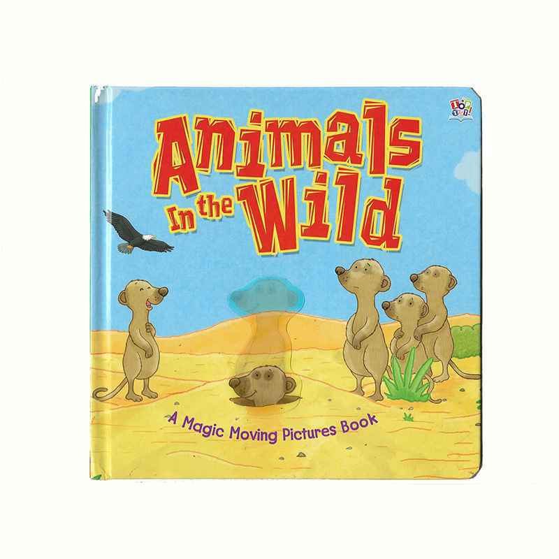 ANIMALS IN THE WILD - A MAGIC MOVING PICTURES BOOK GIGEL.ID - 1