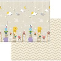 Coby Haus Coby Mat PVC Playmat - Yellow Bear Little Star - XL