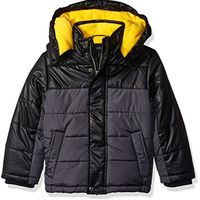Nautica Helm Bubble With Storm Cuffs - Black (Small/4-Little Boys)