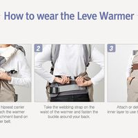 I-Angel Leve Warmer - Check Navy