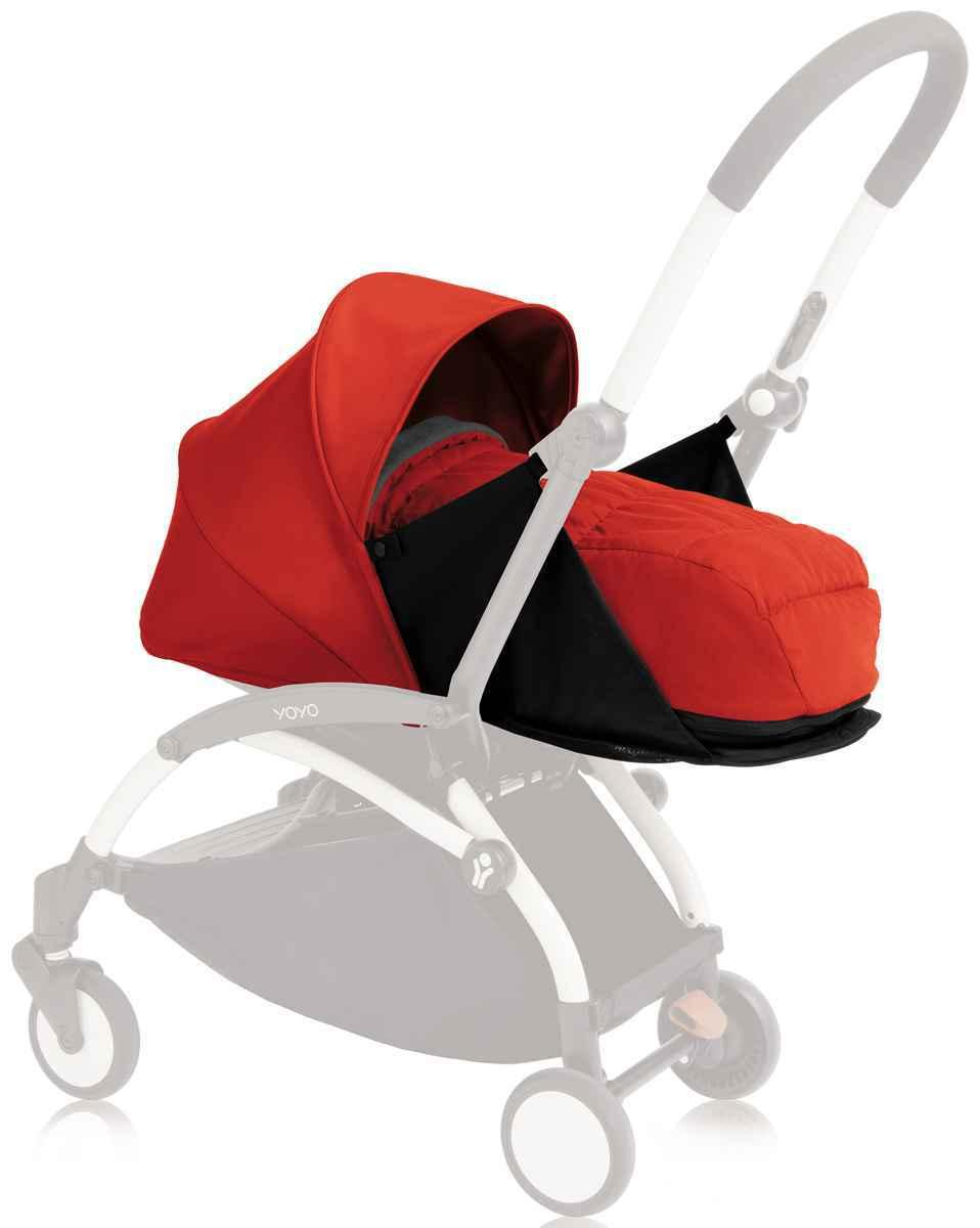 Babyzen Yoyo+ 0+ - Red (tidak termasuk rangka stroller)