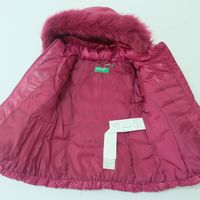 United Colors of Benetton Jacket - Magenta (1-2 years)