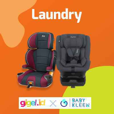 GIGEL.ID x Baby Kleen Laundry Car Seat - 1