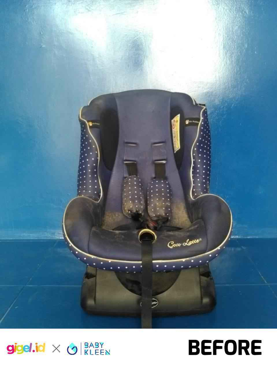 GIGEL.ID x Baby Kleen Laundry Car Seat - 4