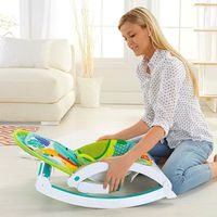 Fisher Price Rainforest Friends Newborn-to-Toddler Portable Rocker