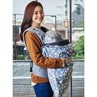 Bebenuvo Universal Hoodie All Season Carrier Cover for Baby Carrier Warmer / Stroller Footmuff - Sno