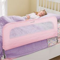Summer Infant Single Safety Bedrail - Pink