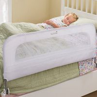 Summer Infant Single Safety Bedrail - White