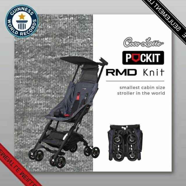 Cocolatte Pockit 838 2S RMD Knit - Grey