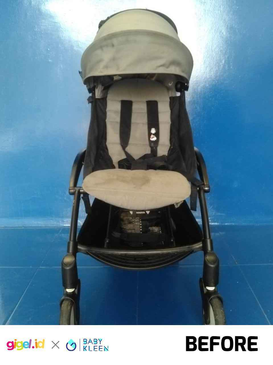 GIGEL.ID x Baby Kleen Laundry Stroller  Double - 2