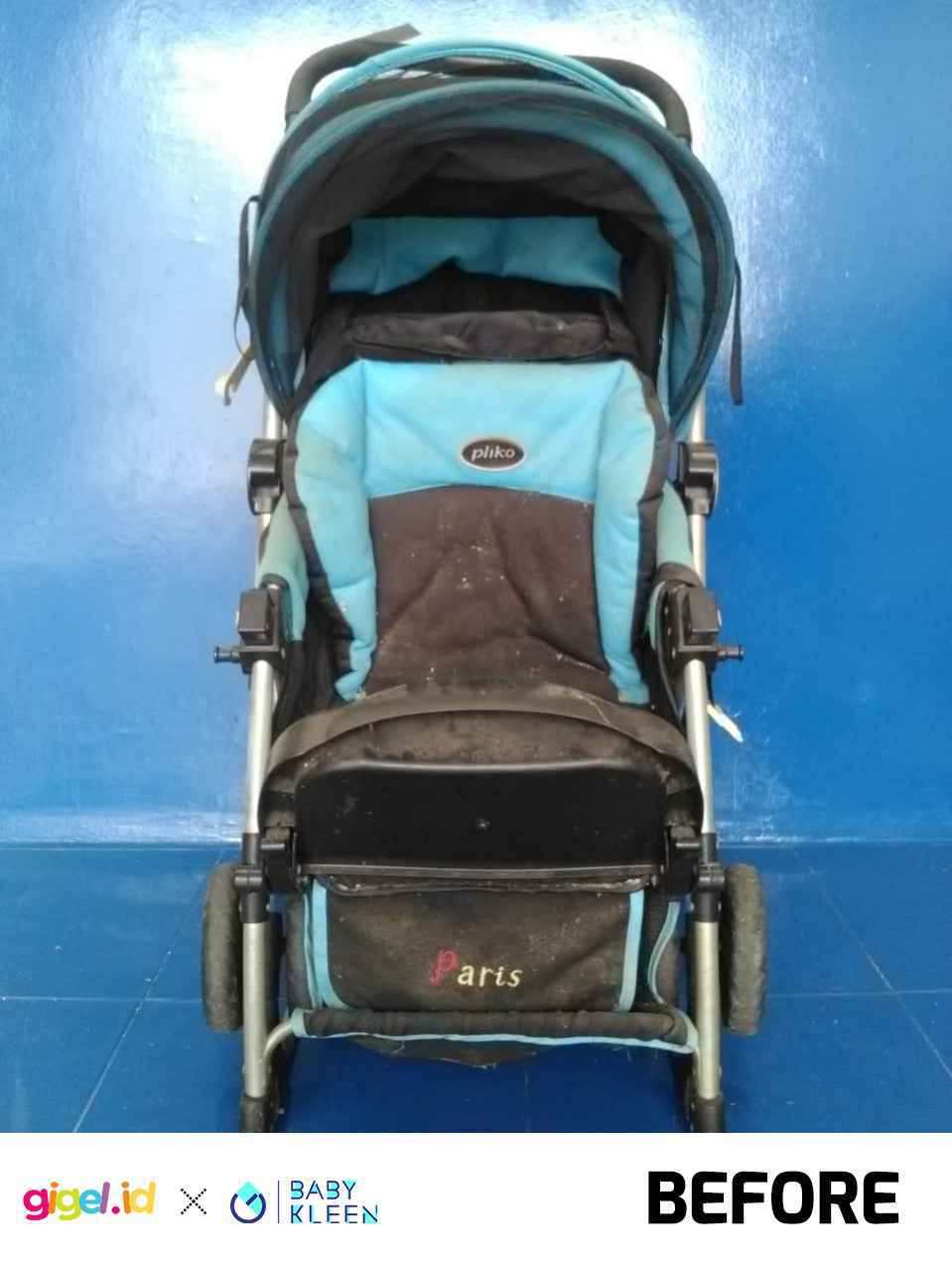 GIGEL.ID x Baby Kleen Laundry Stroller  Double - 4