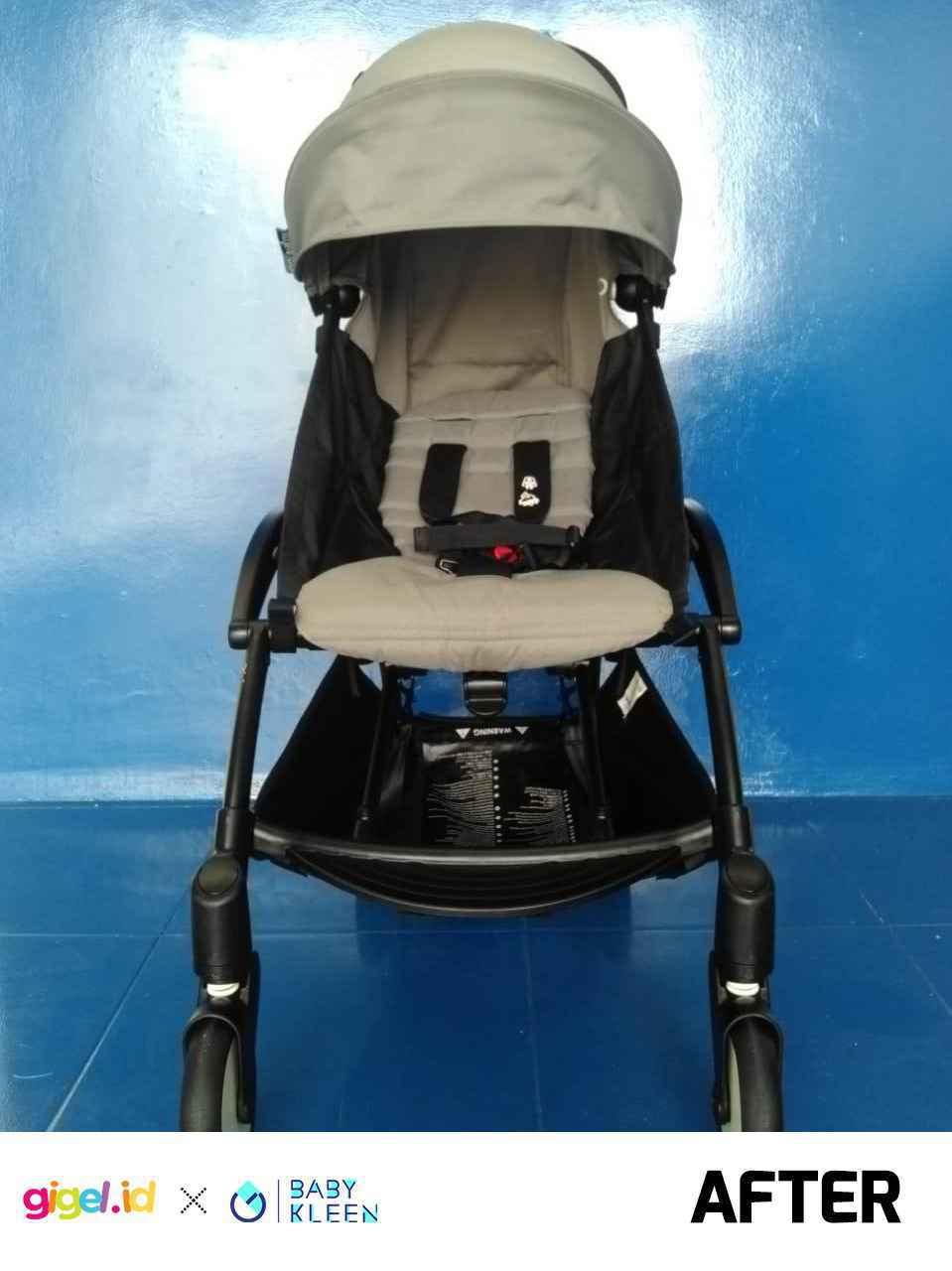 GIGEL.ID x Baby Kleen Laundry Stroller  Double - 3