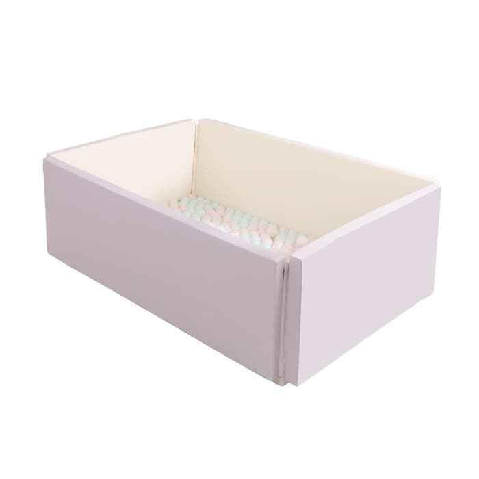 Foldaway Bumper Mat Wide 5 cm - Pink Gray
