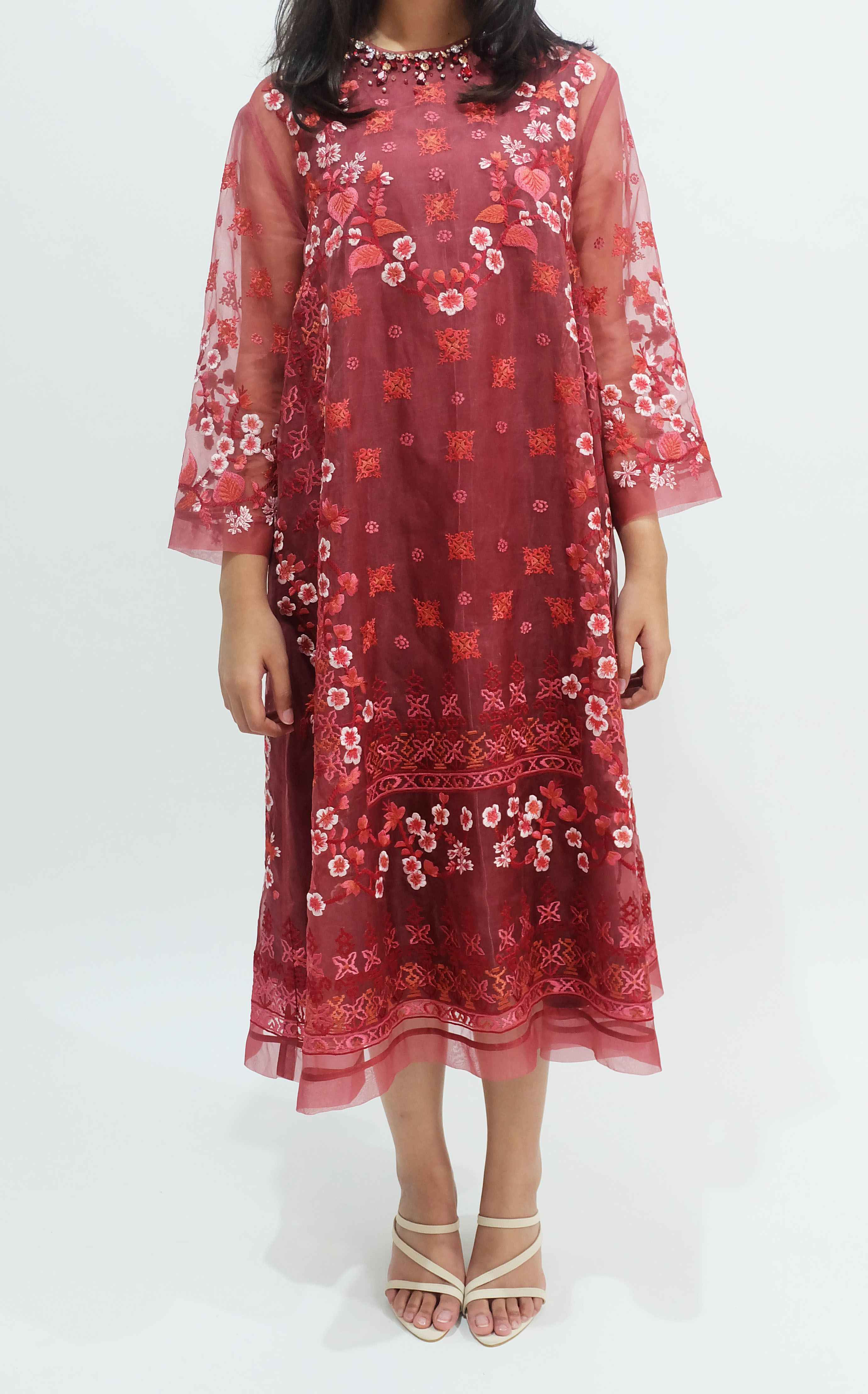Tandamata Long Dress 2