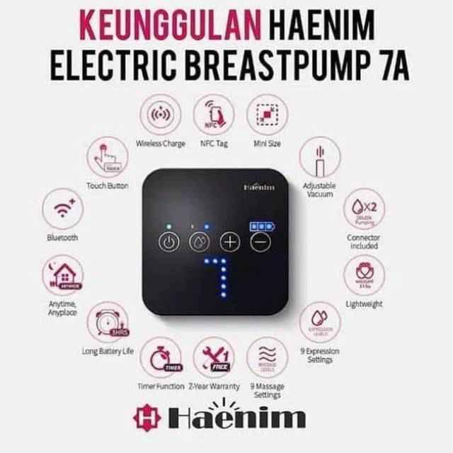 Haenim Breastpump 7A - White