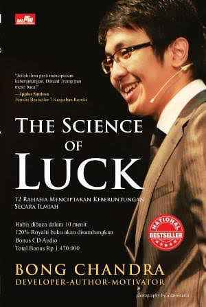 Book: The Science of Luck by Bong Chandra